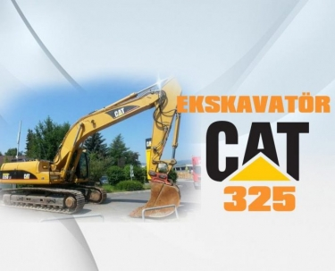 Ekskavatör Cat 325