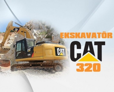 Ekskavatör CAT 320